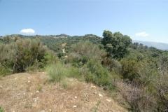 Bouwkavel op een heuvel in Cilento