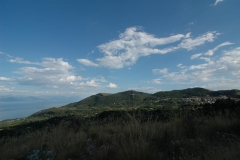 Bouwperceel met schitteren uitzicht op zee in Cilento