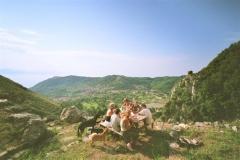 wandeling naar de top van de Monte Bulgheria