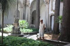 Binnentuin klooster San Lorenzo