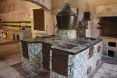authentieke keuken klooster San Lorenzo