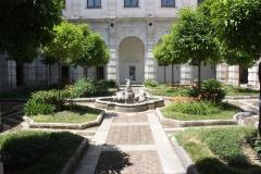 schitterende binnentuin klooster San Lorenzo