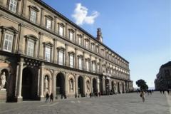 Gevel Koninklijk paleis van Caserta La Regina