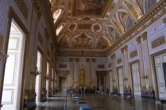 Troonzaal Koninklijk paleis van Caserta La Regina