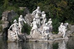beeldengroep Koninklijk paleis van Caserta La Regina