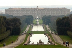tuinen Koninklijk paleis van Caserta La Regina