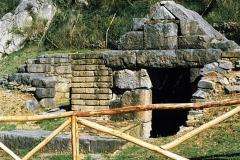 Antieke opgravingen bij Roccagliriosa