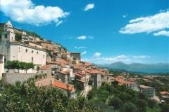 De ligging van Roccagloriosa (3)