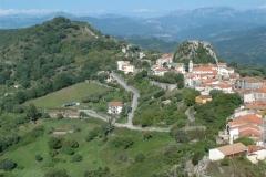 De ligging van Roccagloriosa