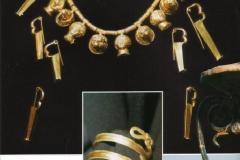 sieraden van de historische opgravingen in Roccagloriosa