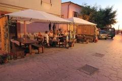 terras van Trattoria, pizzeria Il Borgo
