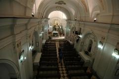 Kerk interieur van de Pietra Santa