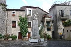Piazza San Pietro del comune di San Giovanni a Piro