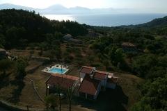 De ligging van de villa. (2)