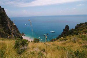 Eén van de mooiste kusten van Italië.