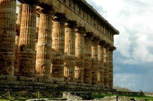 Goed bewaard gebleven Griekse tempels