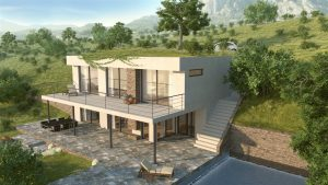 moderne-villa-als-koopwoning-in italië