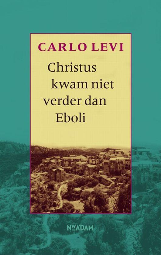 Nederlandse omslag boek Carlo Levi