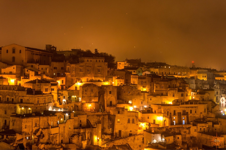 Matera by night.